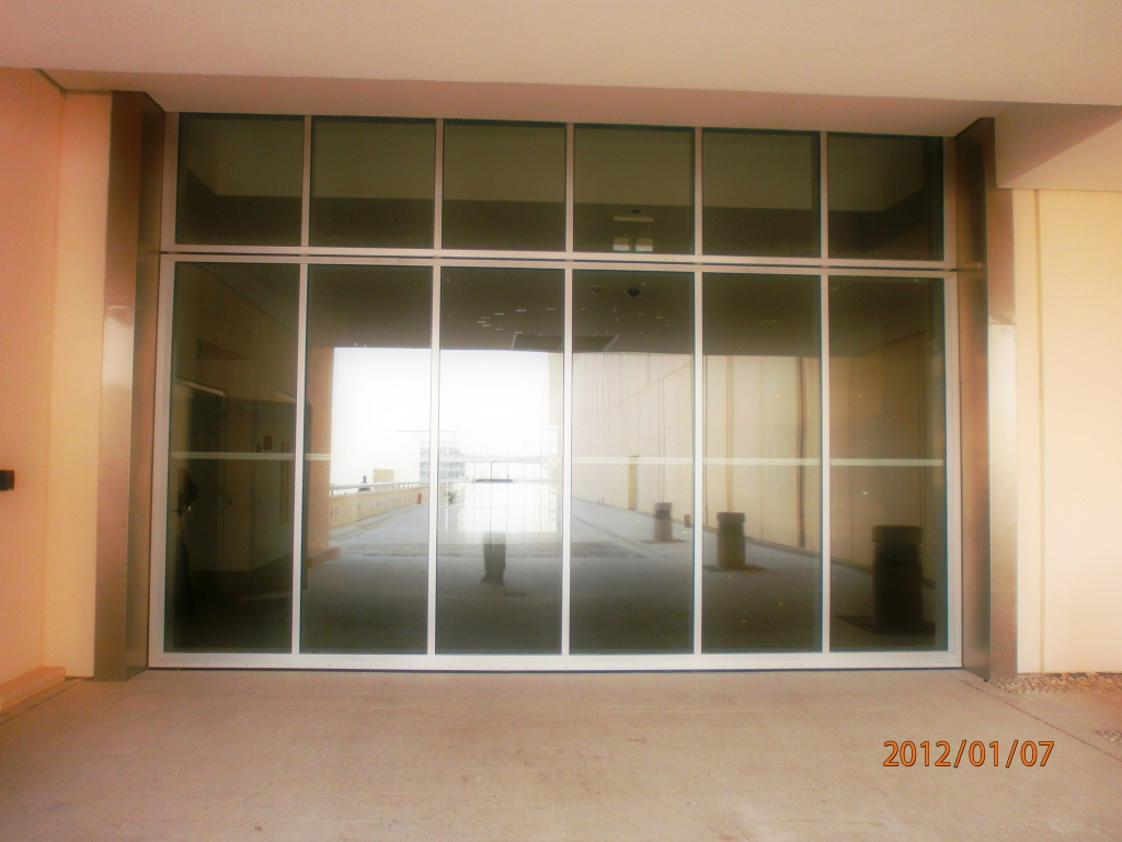 Leo Steel Construction Company Sliding Doors